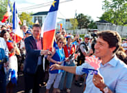 Trudeau, Scheer Had Awkward Exchange Celebrating National Acadian Day In New