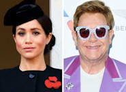 Elton John Slams Critics Of Meghan Markle, Prince