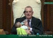La imagen del Parlamento neozelandés que está dando la vuelta al