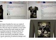 Polémica en Amazon por la venta de camisetas de un judío siendo ejecutado por un