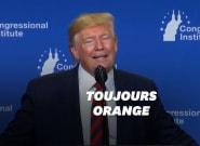Donald Trump reconnaît qu'il a un teint orange... à cause des ampoules basse