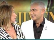 El enfado entre Jorge Javier Vázquez y María Patiño por lo que hizo ella este