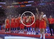 El incidente en la celebración de España que ha podido acabar en disgusto: fíjate en Rudy