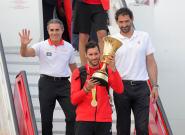 🔴 EN DIRECTO: La celebración de la selección española tras ganar el