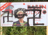 Hate Graffiti Has Tainted Candidate Election Signs In 3 Ridings This Week