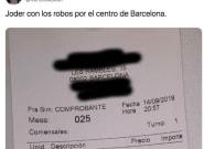 El 'sablazo' a unos clientes en un bar de Barcelona deja boquiabiertas a miles de personas en