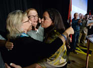 May Appears To Endorse Jody Wilson-Raybould At Vancouver