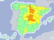 Más de media España, en alerta por fuertes lluvias o