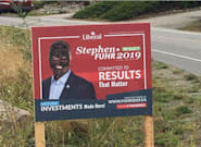 ▶️ Defaced Campaign Signs Mark An Ugly Start To Canada's Federal