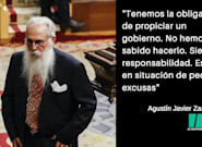Las 8 rotundas frases de Agustín Javier Zamarrón tras el fracaso para formar