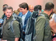 Justin Trudeau Wears Bulletproof Vest In Toronto Area Due To Security
