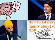 Liberals, NDP Offer Advice For Inevitable Family Thanksgiving Election