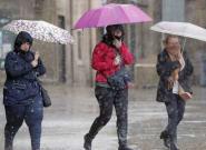 Tiempo: la semana comienza con precipitaciones en la mayor parte de la