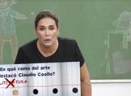 Los apuros de Vicky Martín Berrocal en el test cultural de 'Vuelta al