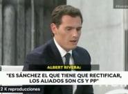 Decenas de usuarios se fijan en el mismo detalle de la cara de Albert Rivera en su entrevista en Antena