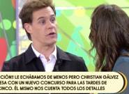 Christian Gálvez reaparece en 'Sálvame' tras el fin de 'Pasapalabra': y dice lo que todos estaban
