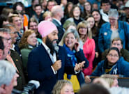 Jagmeet Singh Defends Health-Care Pledges That Wade Into Provincial
