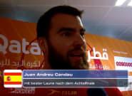 Un internacional español de balonmano arrasa con sus respuestas a un tuitero