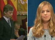 Las similitudes de Felipe y Leonor en su primer discurso oficial en los Princesa de