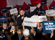 Andrew Scheer Shuts Down 'Lock Him Up' Chant About Trudeau At Conservative