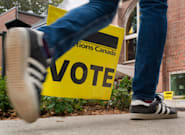 New Canadians Head To Polls To Vote In Canadian Election For 1st