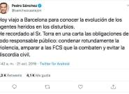 Desatranques Jaén se corona en Twitter con su respuesta a Pedro Sánchez: siete palabras y 27.000 'me