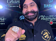 Toronto Raptors 'Superfan' Nav Bhatia Receives NBA Championship