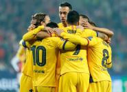 El Barça sufre hasta el límite para vencer al modesto Slavia de Praga