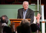 Jimmy Carter hospitalisé après de récentes