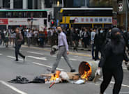 Más enfrentamientos en Hong Kong tras una jornada que deja 128 heridos y 260
