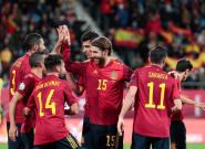 Solo faltó Señor por marcar en la fiesta de España ante Malta
