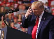 Trump vole au secours de Biden, qui n'est
