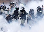 Hong Kong Protests Escalate With Tense Police Standoff At