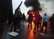 Más de cien manifestantes han muerto en las protestas en Irán, según