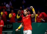 Bautista y Nadal cumplen ante Croacia y España ya está en cuartos de final de la Copa