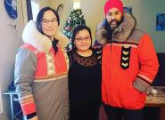 Nunavut's Marlene Watson Gifts Canada's Politicians Incredible Inuit
