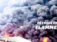 Impressionnant incendie au Nigéria après l'explosion d'un