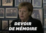 Angela Merkel se rend à Auschwitz pour la première