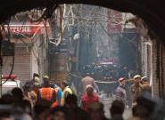 En Inde, l'incendie d'une usine-dortoir fait au moins 43