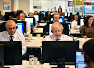 Boris Johnson Is Photographed In A Call Centre And Another Election Meme Is