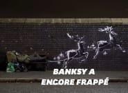 Banksy alerte sur la situation des sans-abri dans une nouvelle