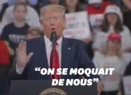 Trump assure que l'Amérique est mieux