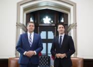Andrew Scheer's Claim Trudeau Has 'Weakest Mandate' Put To