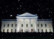 La Maison Blanche annonce de la neige à Washington... sauf que