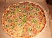 La pizza au kiwi offusque les