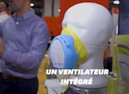 Ce masque anti-pollution de l'air vous alerte en temps