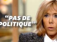 Brigitte Macron dit qu'elle ne fait pas de politique mais c'est plus