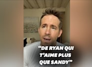 Ryan Reynolds jaloux de Sandra Bullock dans un message