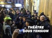 Macron évacué du théâtre des Bouffes du Nord après le rassemblement de