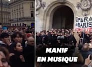 L'Opéra de Paris offre un nouveau concert gratuit contre la réforme des